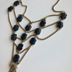 Kendra Scott Valerie Necklace in Lapis
